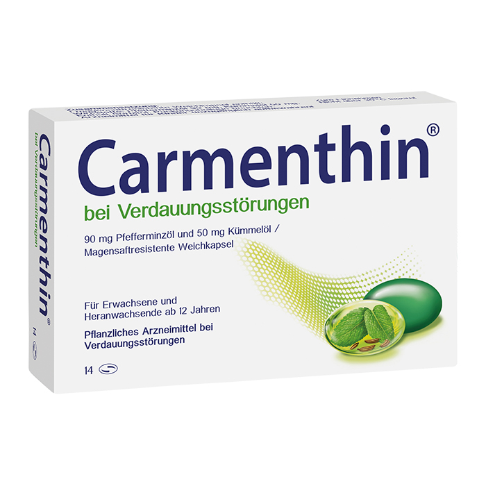 Carmenthin®  Weichkapseln 14Stück