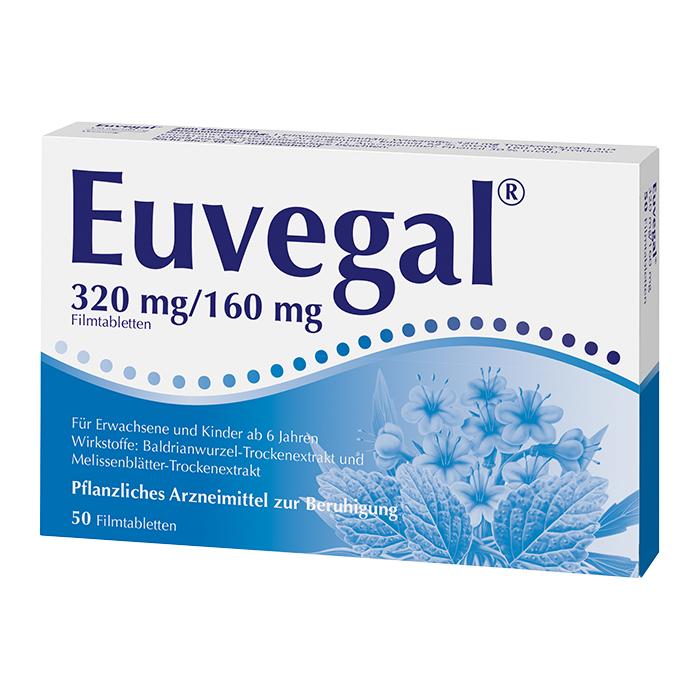 Euvegal® 320 mg/160 mg 50 Stück
