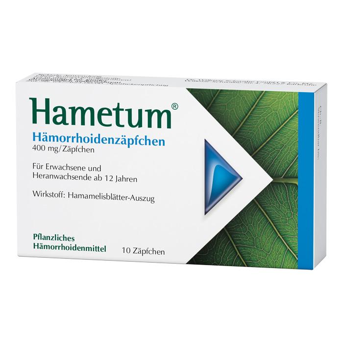 Hametum® Hämorrhoidenzäpfchen 10 Stück