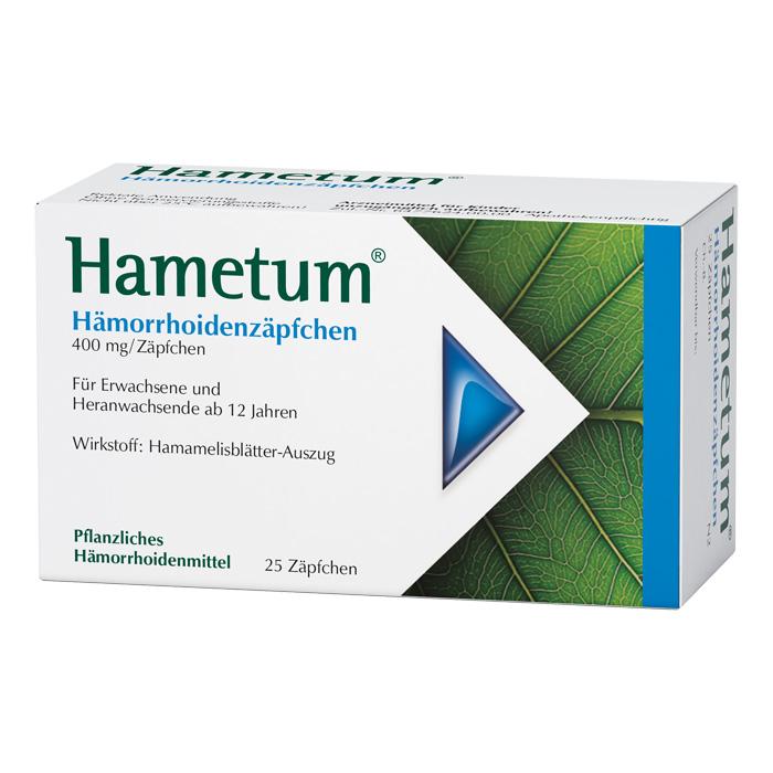 Hametum® Hämorrhoidenzäpfchen 25Stück