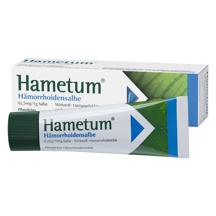 Hametum® Hämorrhoidensalbe25g