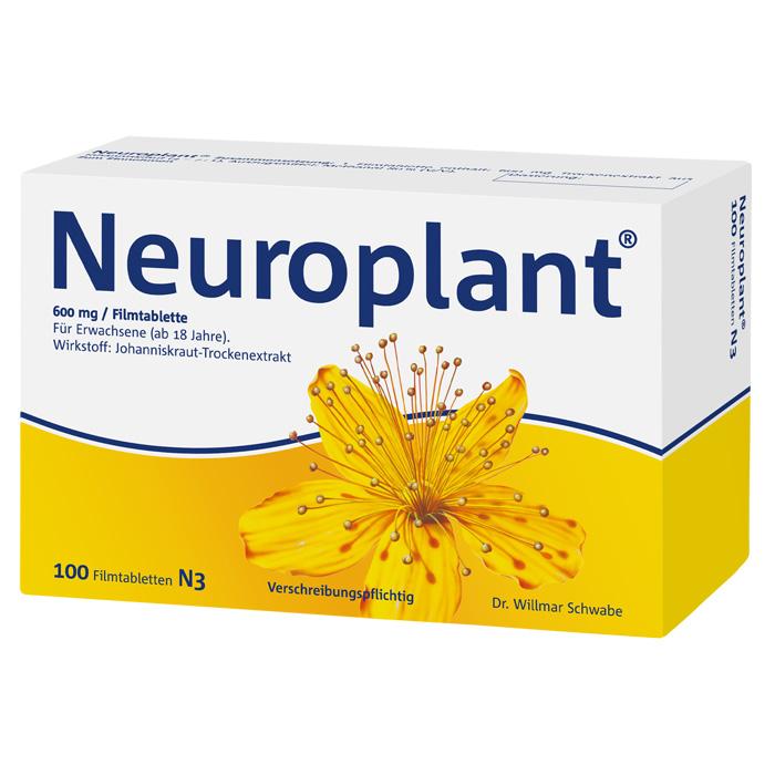 Neuroplant® 600 mg Filmtabletten 100 Stück