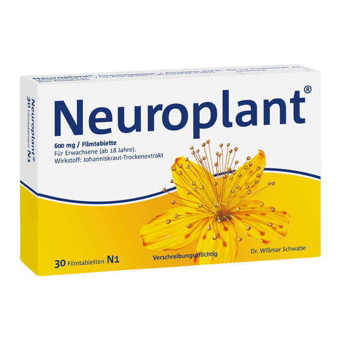 Neuroplant® 600 mg Filmtabletten 30 Stück