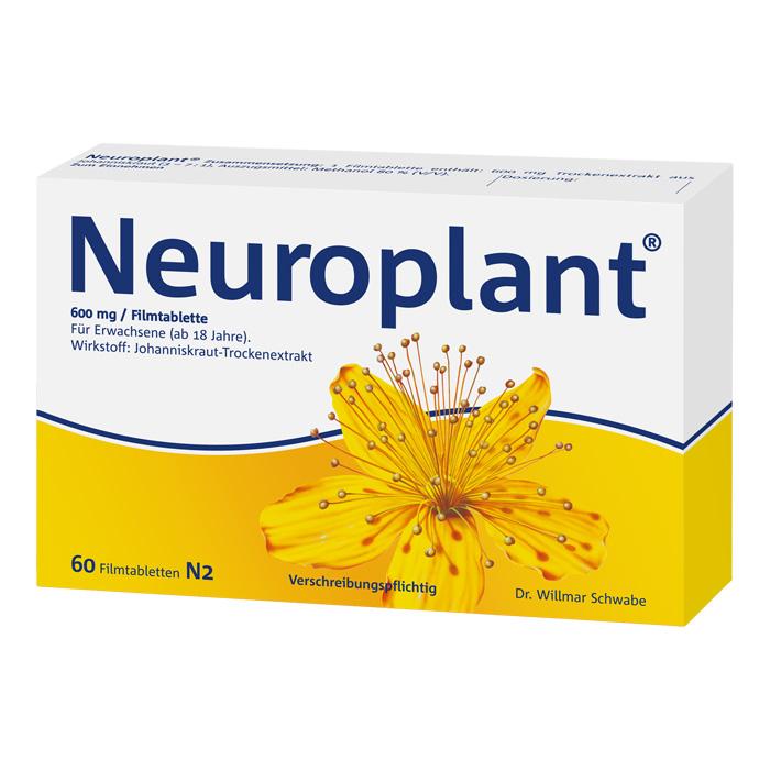 Neuroplant® 600 mg Filmtabletten 60 Stück