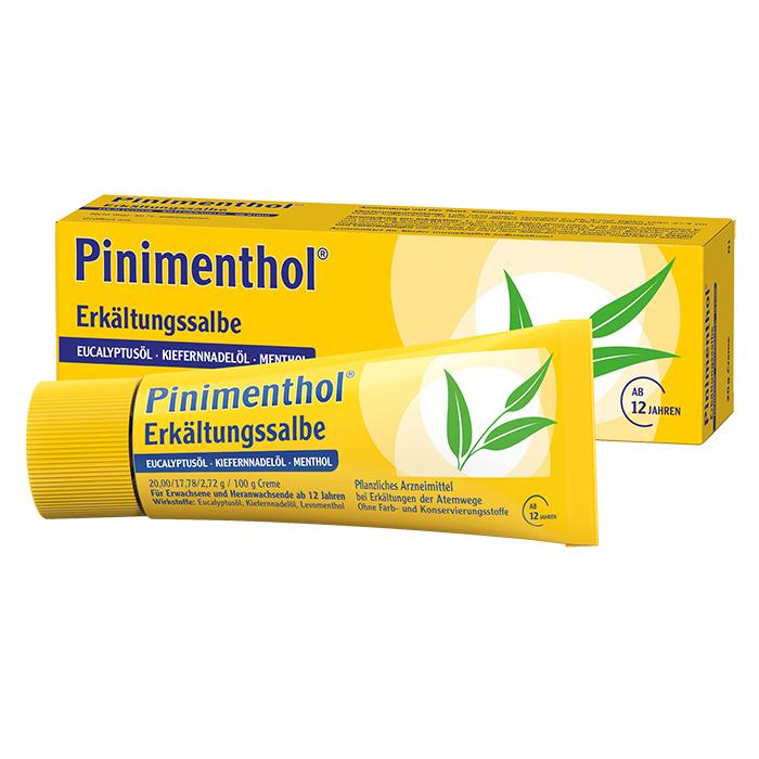Pinimenthol® Erkältungssalbe Eukalyptus Kiefernnadel Menthol 20 g