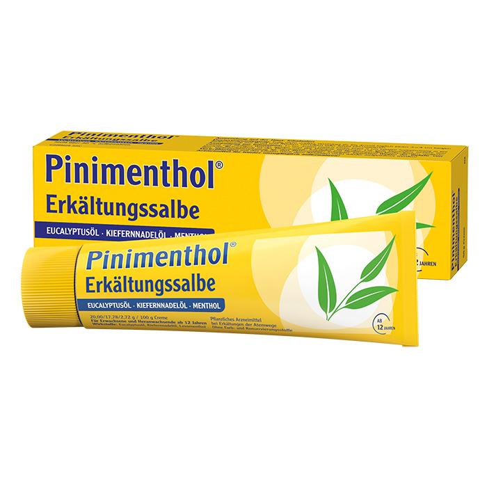 Pinimenthol® Erkältungssalbe Eukalyptus Kiefernnadel Menthol 50 g