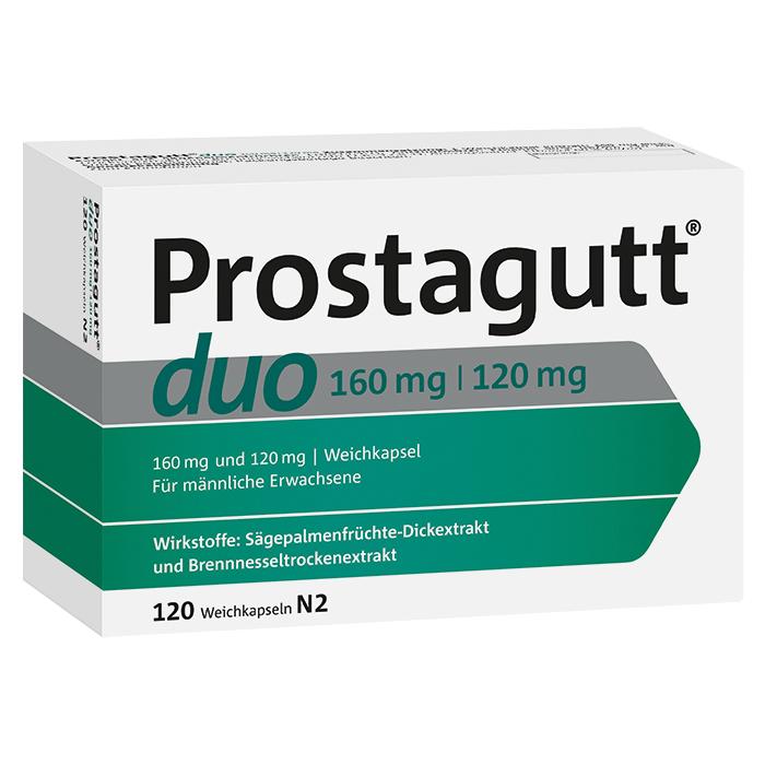 Prostagutt® duo 160 mg / 120 mg Weichkapseln 120 Stück