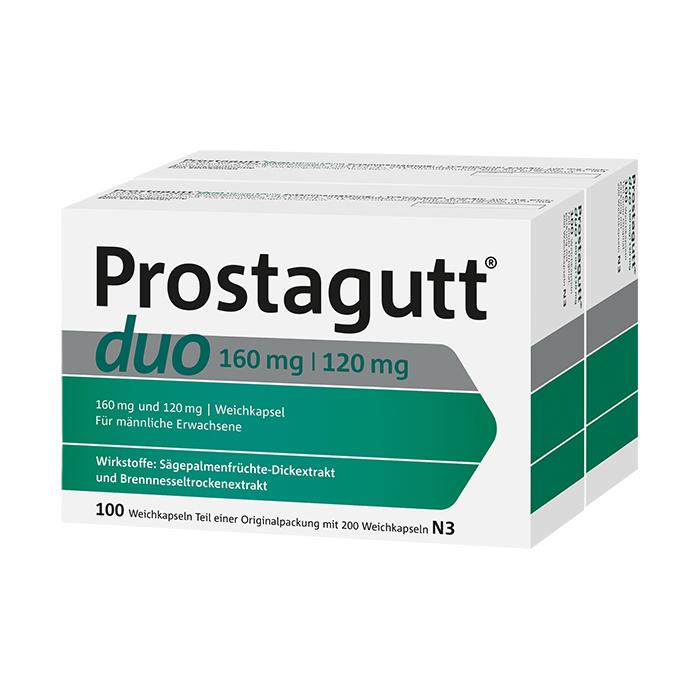 Prostagutt® duo 160 mg / 120 mg Weichkapseln 200 Stück (2x100 St.)