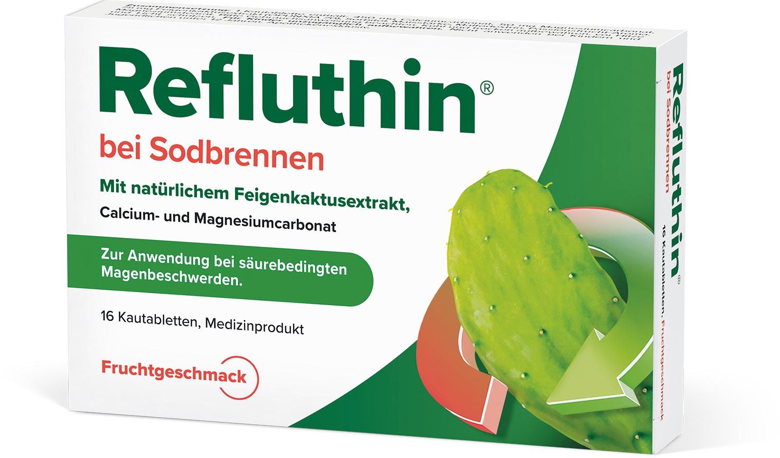 Refluthin®  Frucht Kautabletten 16Stück