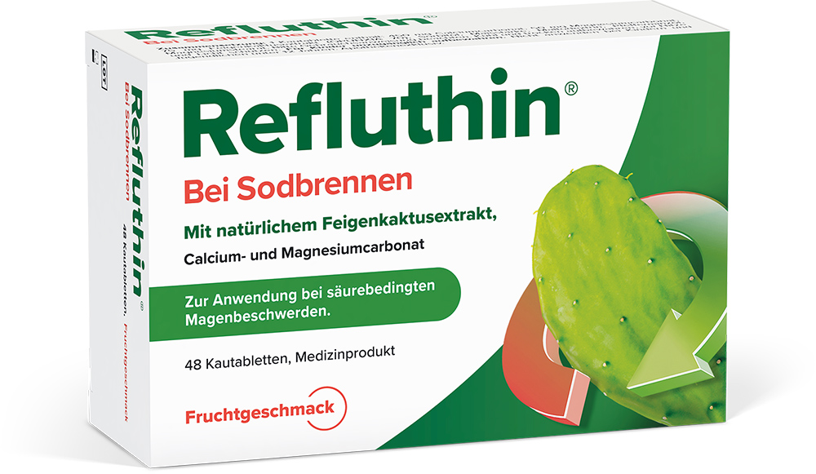 Refluthin®  Frucht Kautabletten 48 Stück