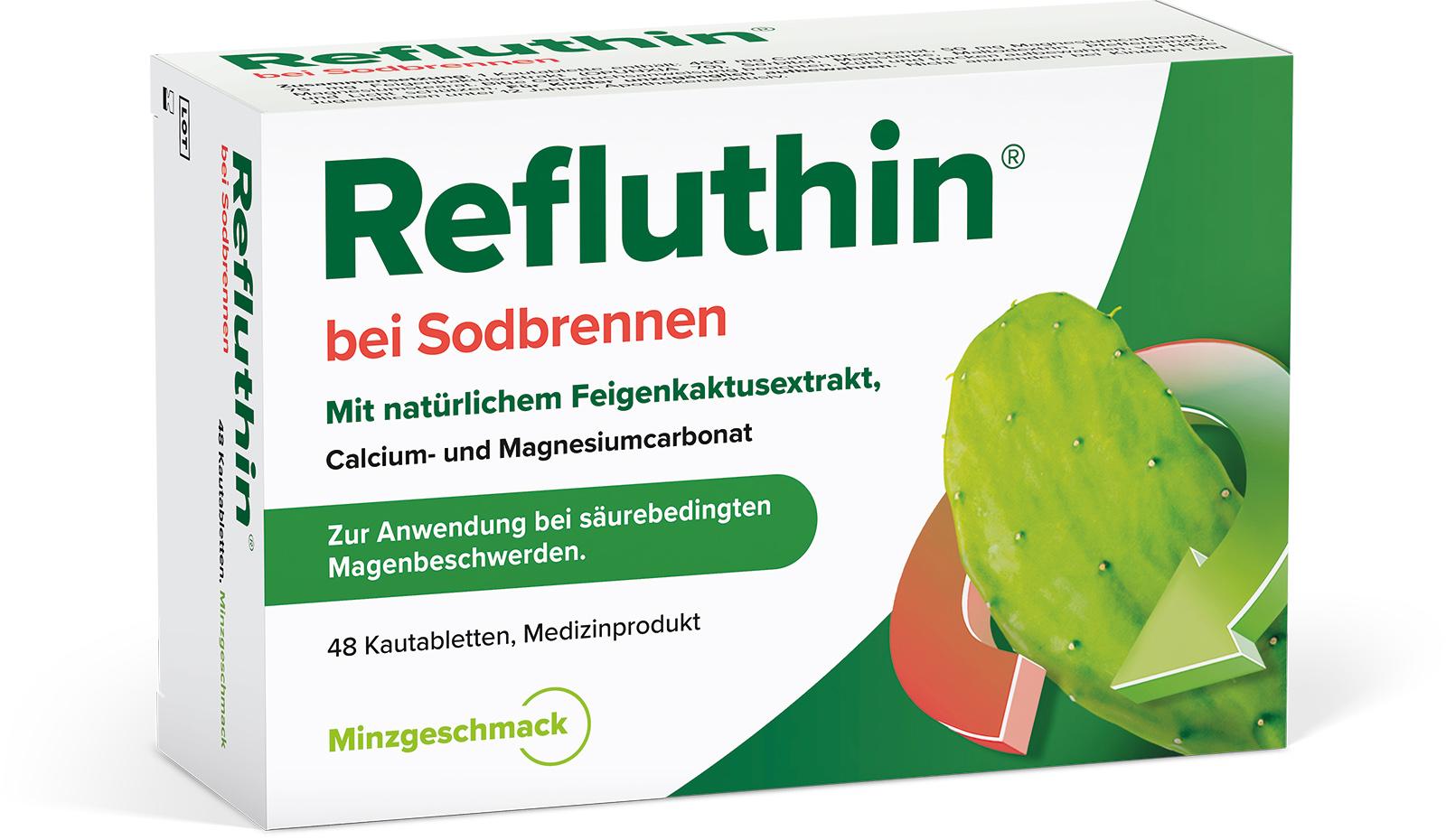 Refluthin®  Minze Kautabletten 48Stück