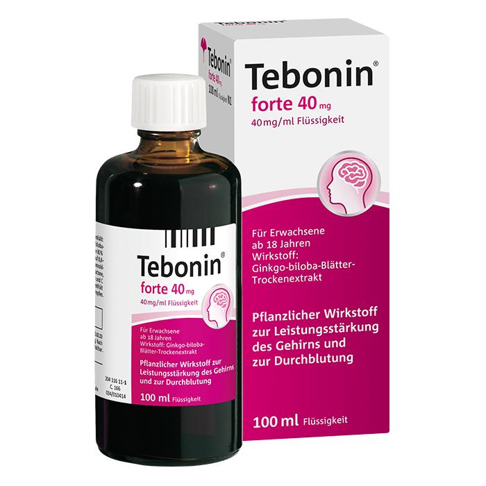 Tebonin® forte 40 mg Flüssigkeit 100 ml