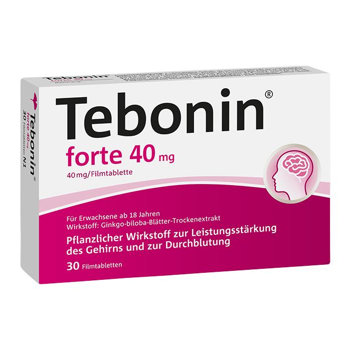 Tebonin® forte 40 mg Filmtabletten 30 Stück