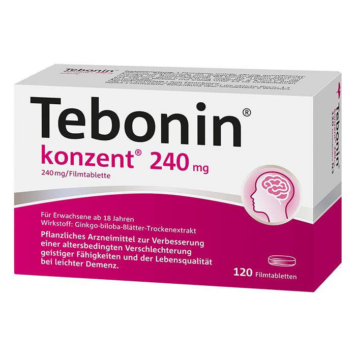 Tebonin® konzent® 240 mg Filmtabletten 120 Stück