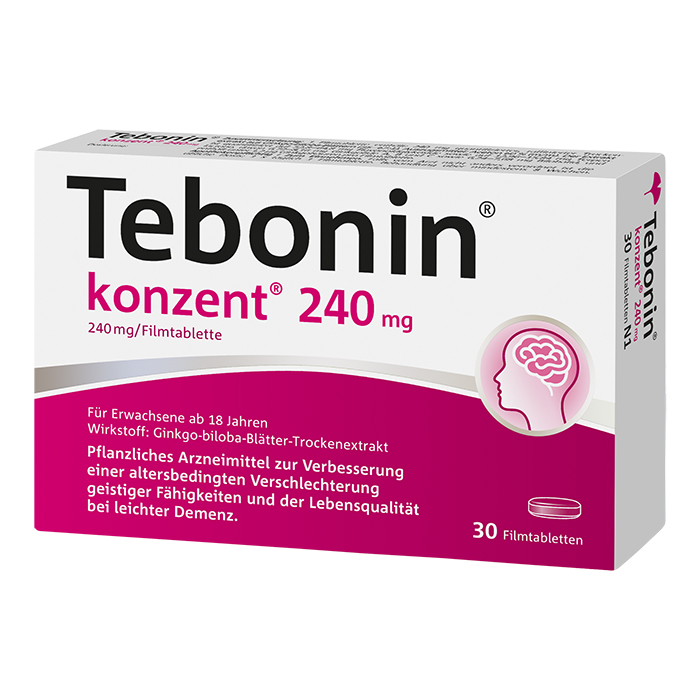 Tebonin® konzent® 240 mg Filmtabletten 30 Stück