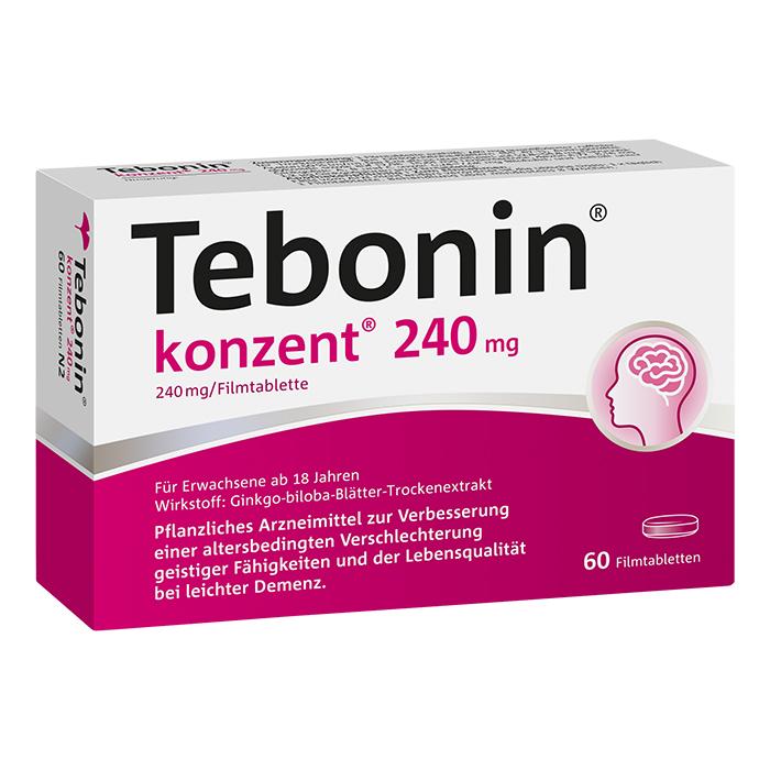 Tebonin® konzent® 240 mg Filmtabletten 60 Stück