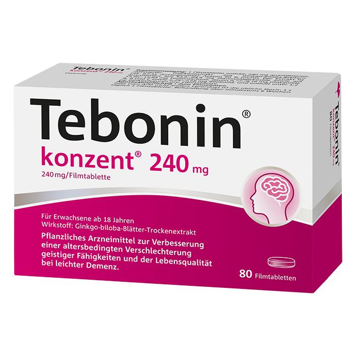 Tebonin® konzent® 240 mg Filmtabletten 80 Stück