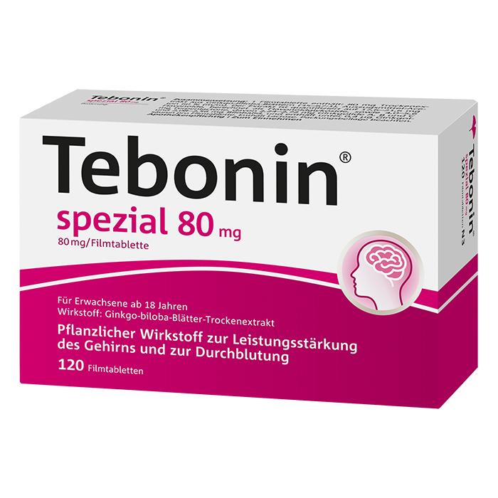 Tebonin® spezial 80 mg Filmtabletten 120 Stück