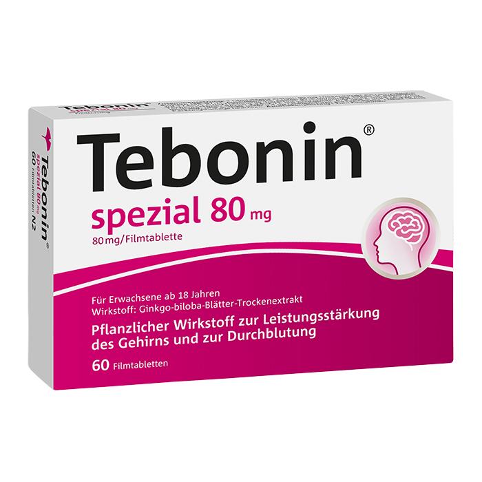 Tebonin® spezial 80 mg Filmtabletten 60 Stück