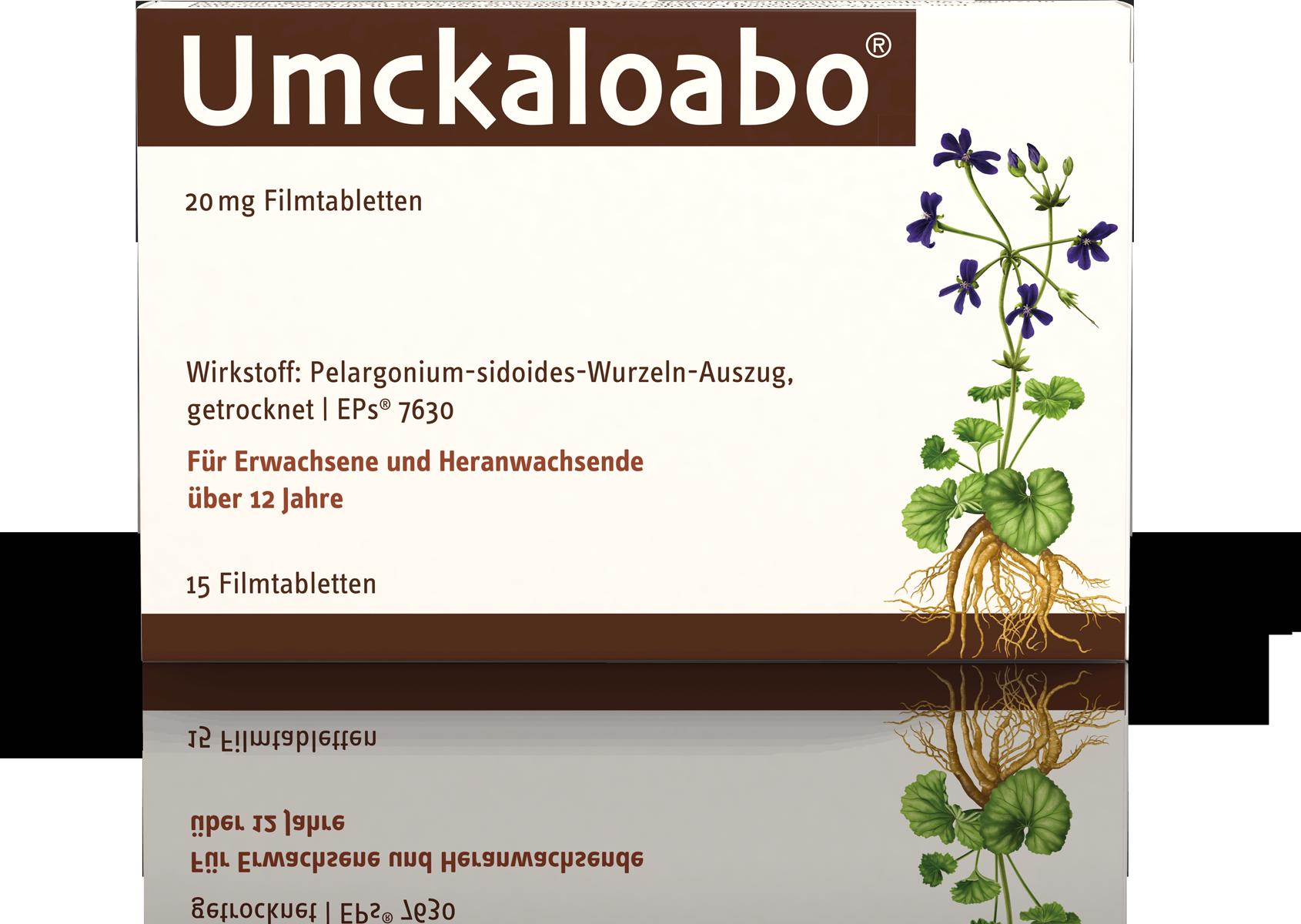 Umckaloabo® 20 mg Filmtabletten 15Stück