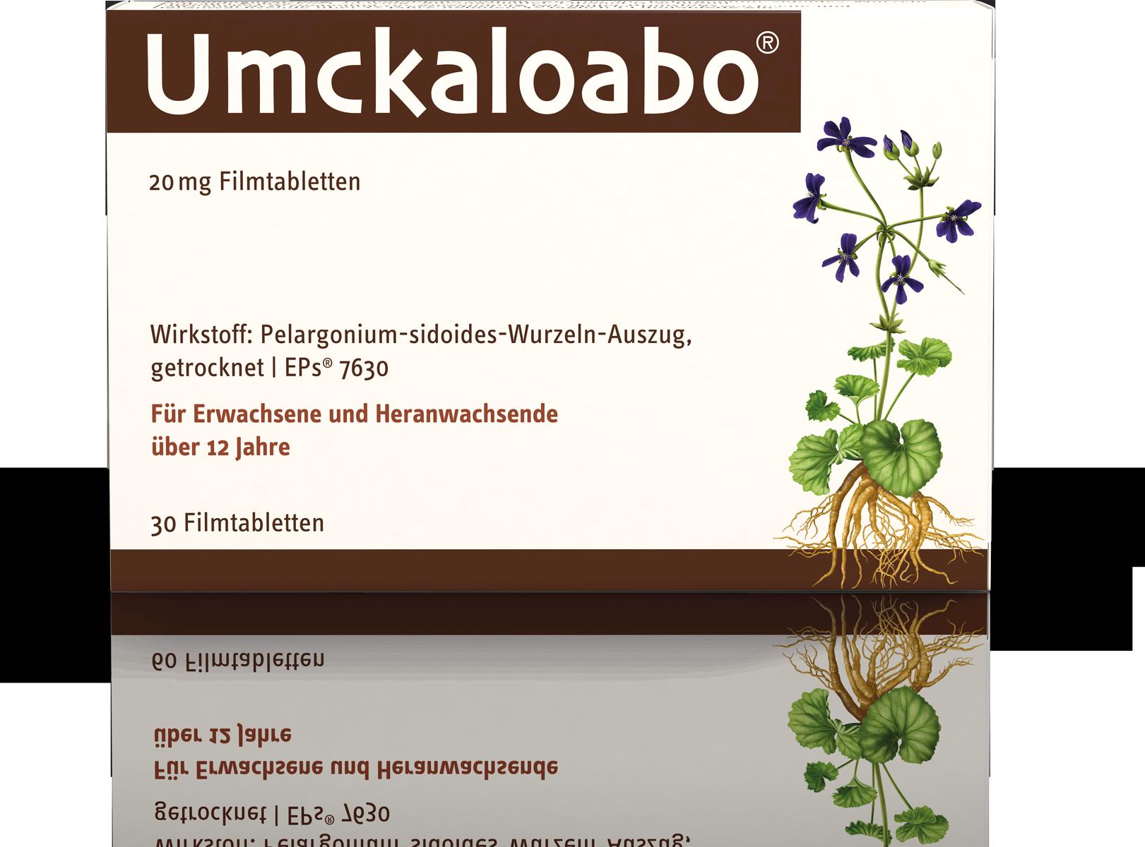 Umckaloabo® 20 mg Filmtabletten 30Stück