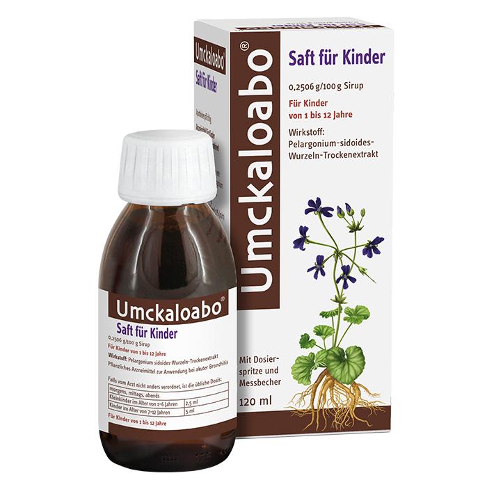 Umckaloabo® Saft für Kinder 120 ml